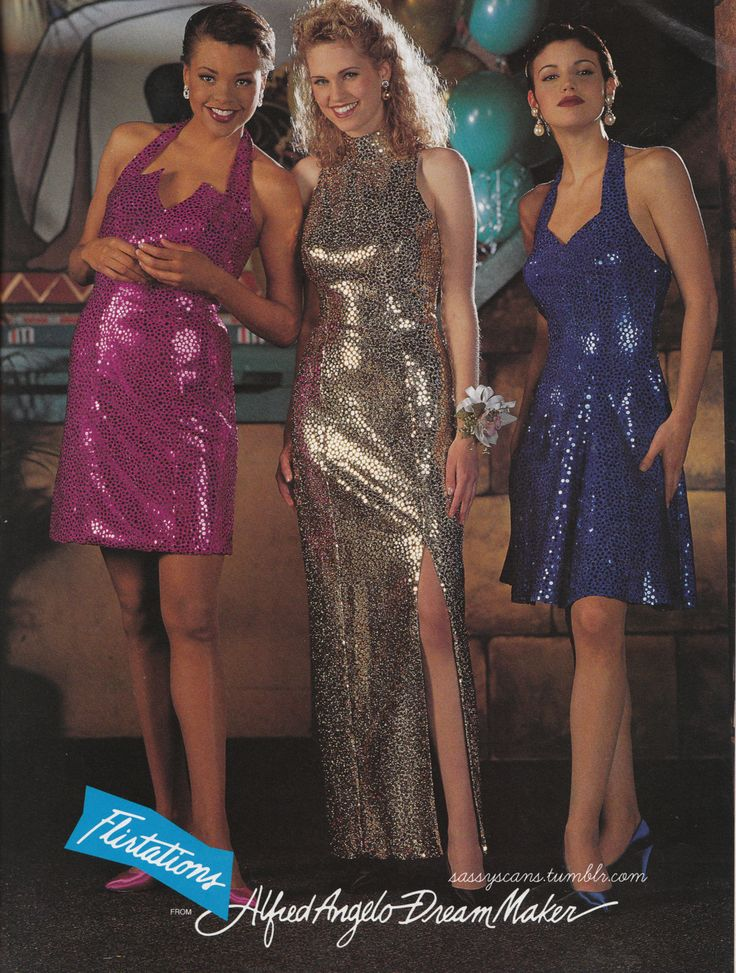 90s Style Prom Dresses