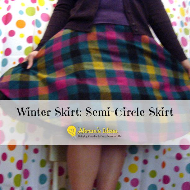 Semi Circle Skirt 46