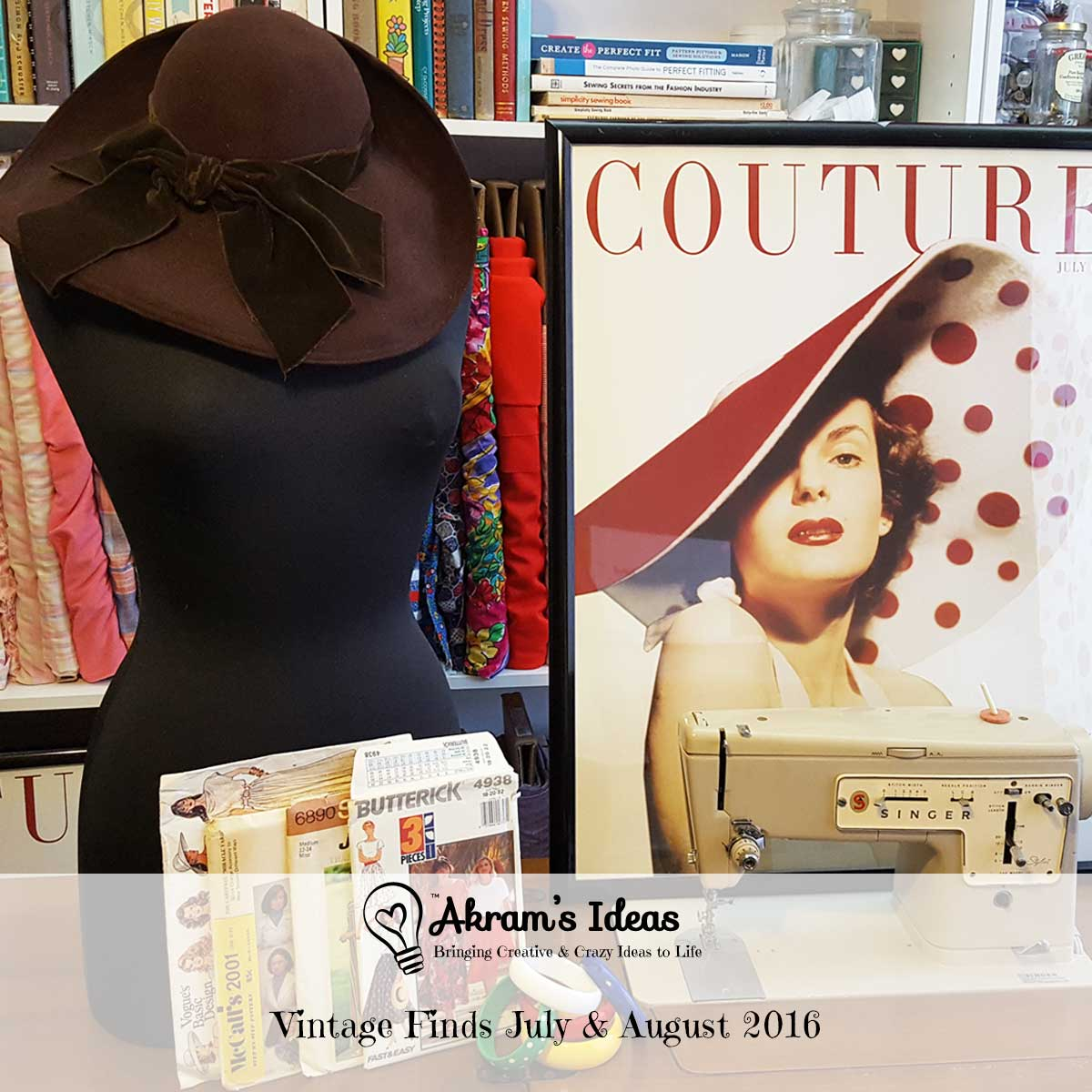 A review of my latest vintage finds (haul) for July 2016.