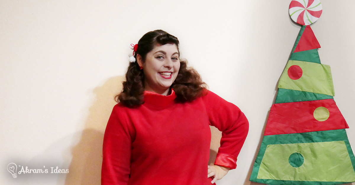 The Little Red Dress Project via @akramsideas