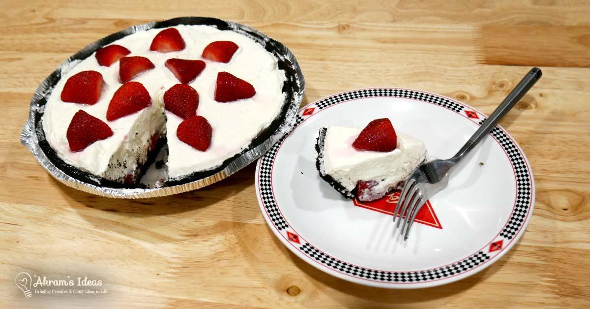 Strawberry white chocolate pie a rich taste from a no for White chocolate and strawberry tart