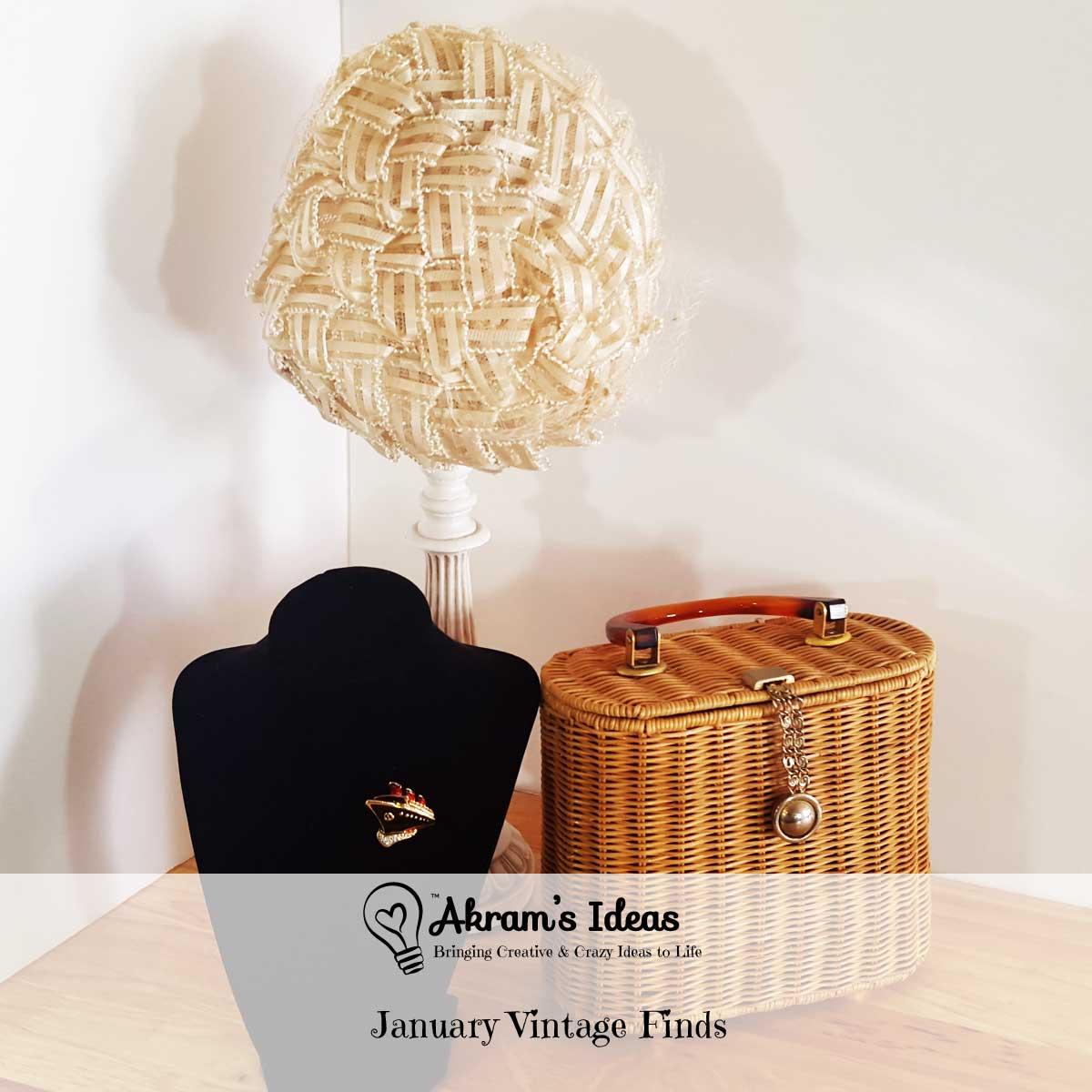 Akram's Ideas: January Vintage Finds