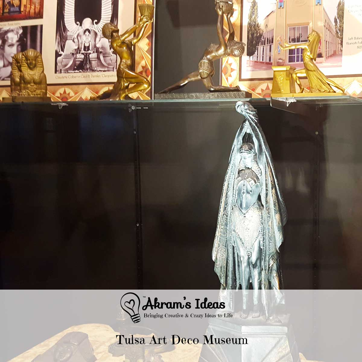 A review of my day trip to the Tulsa Art Deco Museum at Philcade Building in downtown Tulsa.